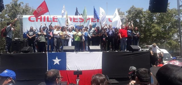 Unidad Social rechaza anuncio de Ley de Piñera que pretende involucrar a las FFAA en el orden público.