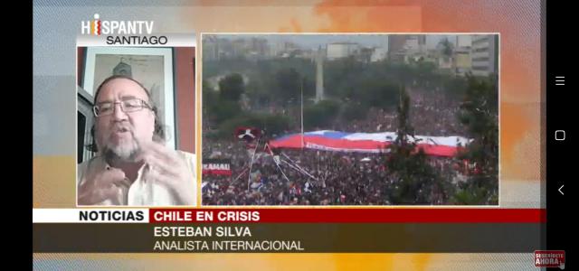 «Piñera busca ganar tiempo para escamotear demandas de los chilenos de una Asamblea Constituyente para un cambio completo de la Constitución»  Análisis en Hispantv
