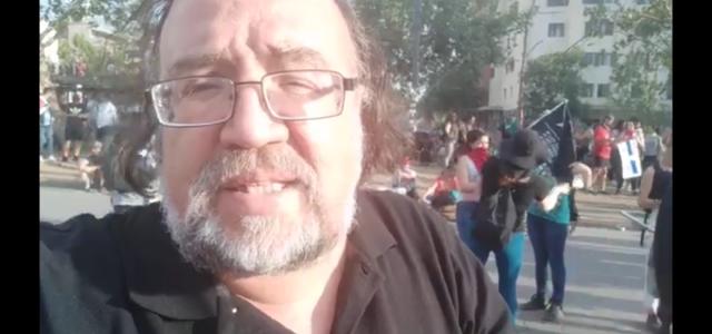 Columna de Esteban Silva desde la Plaza de la Dignidad y la Rebelión: A un mes del despertar de un pueblo movilizado.