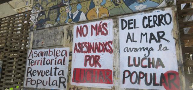 VALPARAÍSO EN UN DÍA DE LUCHA: MARCHAS, ASAMBLEAS Y RESISTENCIA CONTRA PIÑERA Y EL ORDEN CAPITALISTA