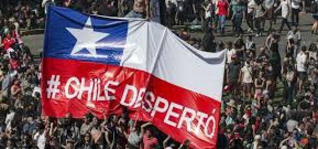 MILLONES DE CHILENOS HAN DICHO BASTA A LA BARBARIE CAPITALISTA