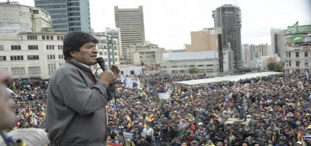 Socialismo Allendista de Chile llama a rechazar golpe del estado en curso contra el Presidente Evo Morales y el pueblo boliviano.