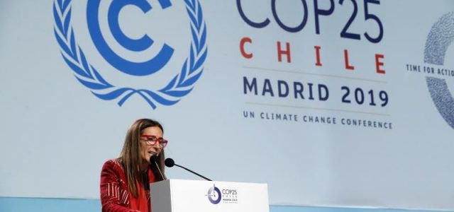 COP25: Vergüenza internacional