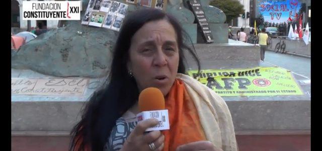 ¿Que es una Asamblea Constituyente? Habla Claudia Iriarte.
