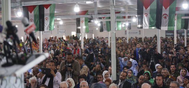 Descolonización  e independencia pendiente del Sáhara Occidental: XV Congreso del Frente Polisario. Saludo desde Chile.