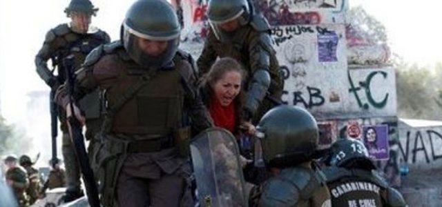 El actuar del gobierno de Piñera y su coalición se reduce cada vez más a una sola palabra: represión