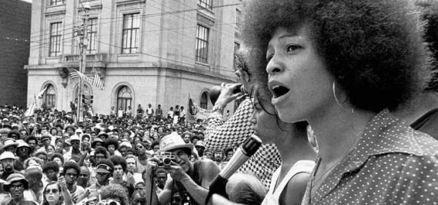 Angela Davis, Icono feminista, LGBT y del Black Power.