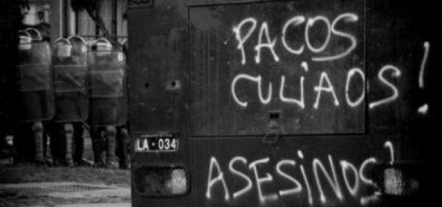 Chile, nuevo luto: FF.EE. asesina a otro joven manifestante. ¡Fuera Piñera, Blumel y Rozas!