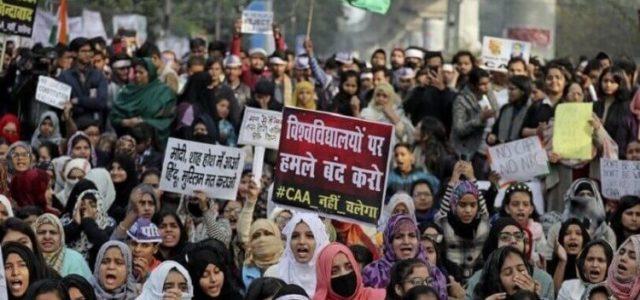 India – Vemos, por primera vez, un movimiento sostenido en todo el país encabezado por mujeres