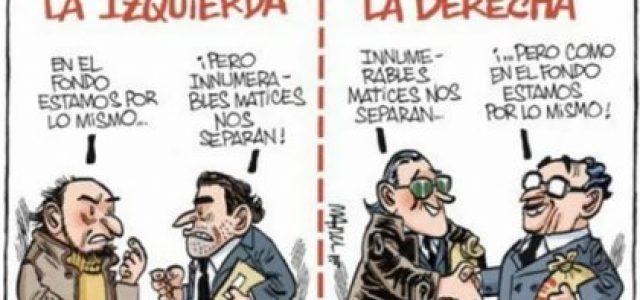 MIENTRAS LA IZQUIERDA SUEÑA, LA DERECHA NUNCA DUERME