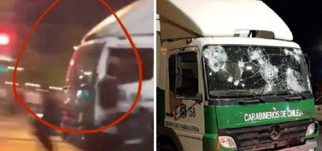 """Otro montaje de Carabineros que se cae: Camión que asesinó a Jorge """"Neco"""" Mora tenía visibilidad completa cuando lo atropellaron"""