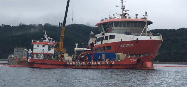 Tripulantes de naves salmoneras: Cada vez menos tripulaciones, trabajo precario, inseguro y con preparación deficiente