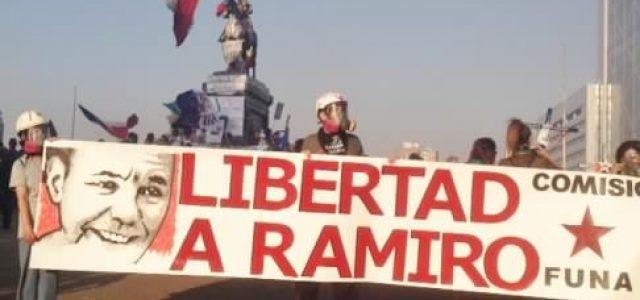 La Plaza de la Dignidad se solidariza con el prisionero antifascista Mauricio Hernández, Ramiro