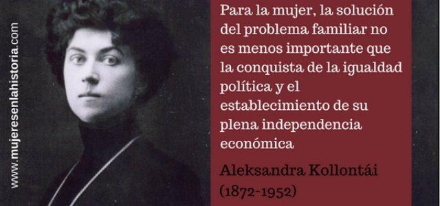 El Día de la Mujer  por Aleksandra Kollontai