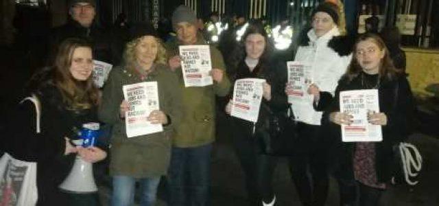 Irlanda: los manifestantes de la clase trabajadora se movilizan contra el candidato electoral de extrema derecha