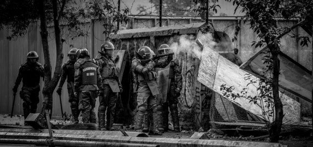 Carabineros y represión en Puente Alto