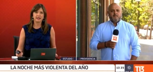 """Periodista fascista Mónica Pérez calificó el asesinato de Jorge """"Neco"""" Mora como una """"mínina chispa"""" que no justificaba el aumento de la violencia"""