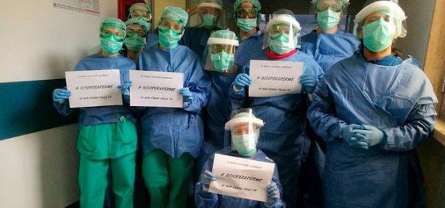 La primera huelga general bajo la pandemia rompe la «unidad nacional» en Italia