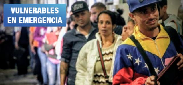 Perú – Cerca del 80% de migrantes venezolanos no cuenta con dinero para alimentarse