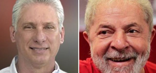 Carta de Lula al Presidente de Cuba Miguel Díaz-Canel