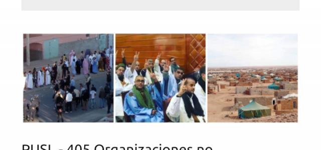Más de 405 organizaciones, y personalidades de todo el mundo denuncian la situación de los presos políticos saharauis en las cárceles Marroquíes ante riesgo del coronavirus.