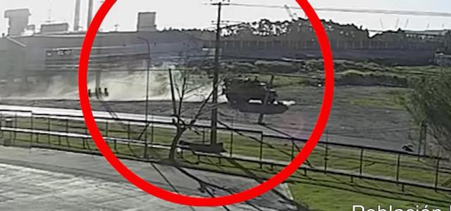 Video muestra cómo patrulla de la Armada atropelló y mató a manifestante en Talcahuano el 21 de octubre