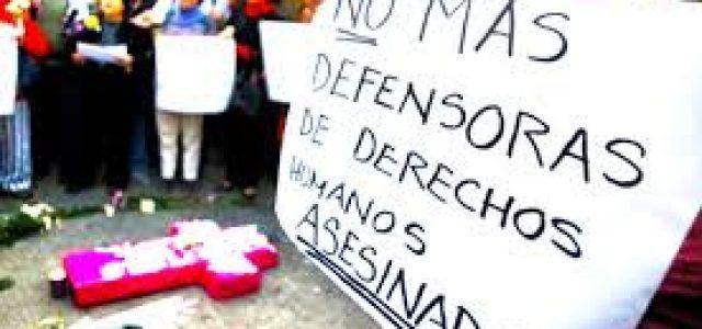 ASESINATO EN COLOMBIA DE LUCHADORA FEMINISTA y protestas en las calles por el hambre