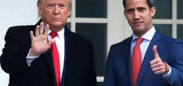 Los que reciben y aplauden al presidente impostor