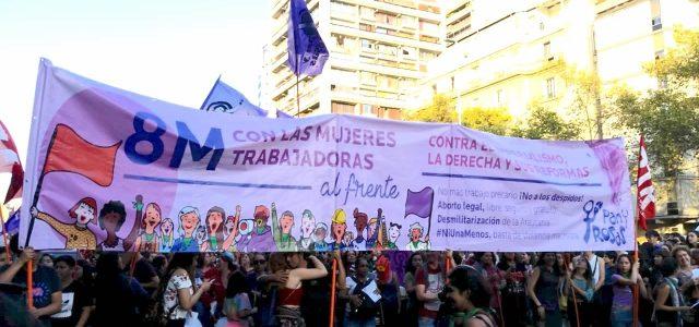 Feminismo Socialista, preparándonos para un 8M histórico