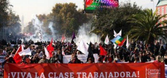Santiago, viernes 1° de mayo clasista y combativo: 11:00 horas en Plaza Dignidad