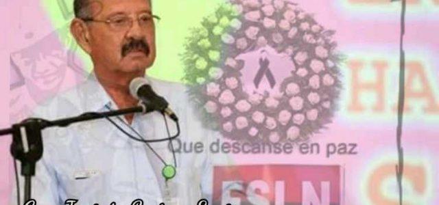 Allendistas rinden homenaje a Jacinto Suárez,  dirigente sandinista nicaragüense.