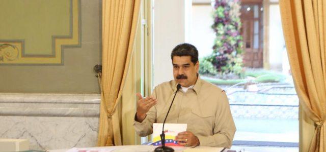 """CARTA DEL PRESIDENTE MADURO AL PUEBLO DE EE.UU: """"QUEREMOS PAZ, HAY QUE PONERLE FRENO A LA LOCURA DE TRUMP"""""""
