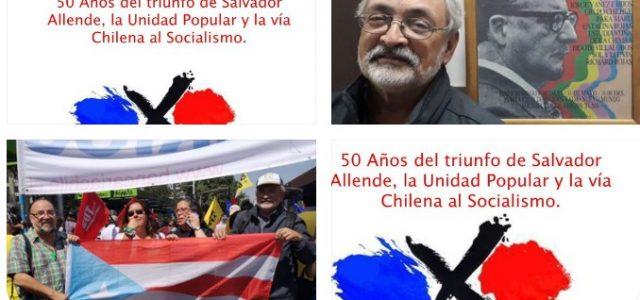 50 Años:»Salvador Allende y Puerto Rico: pura solidaridad». Por Julio. A. Muriente P. (MINH) de Puerto Rico