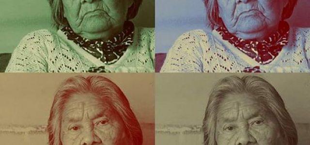 #Cristina_Calderón_Harban…última hablante nativa #YAGÁN. Hoy cumple 92 años