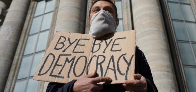 La pandemia y la dictadura
