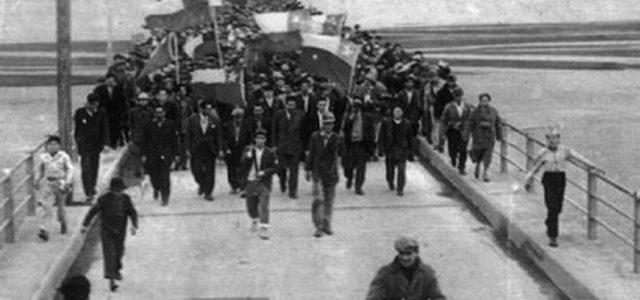 60 años de la gran marcha de los mineros del carbón a Concepción